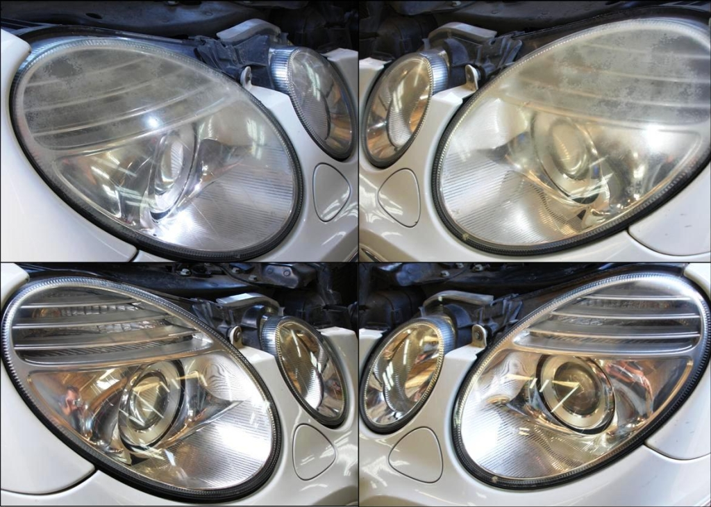 Mercedes Headlight Restoration