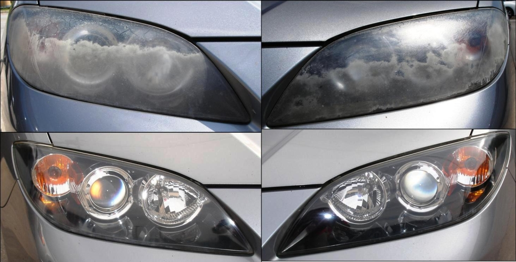 Mazda Headlight Restoration