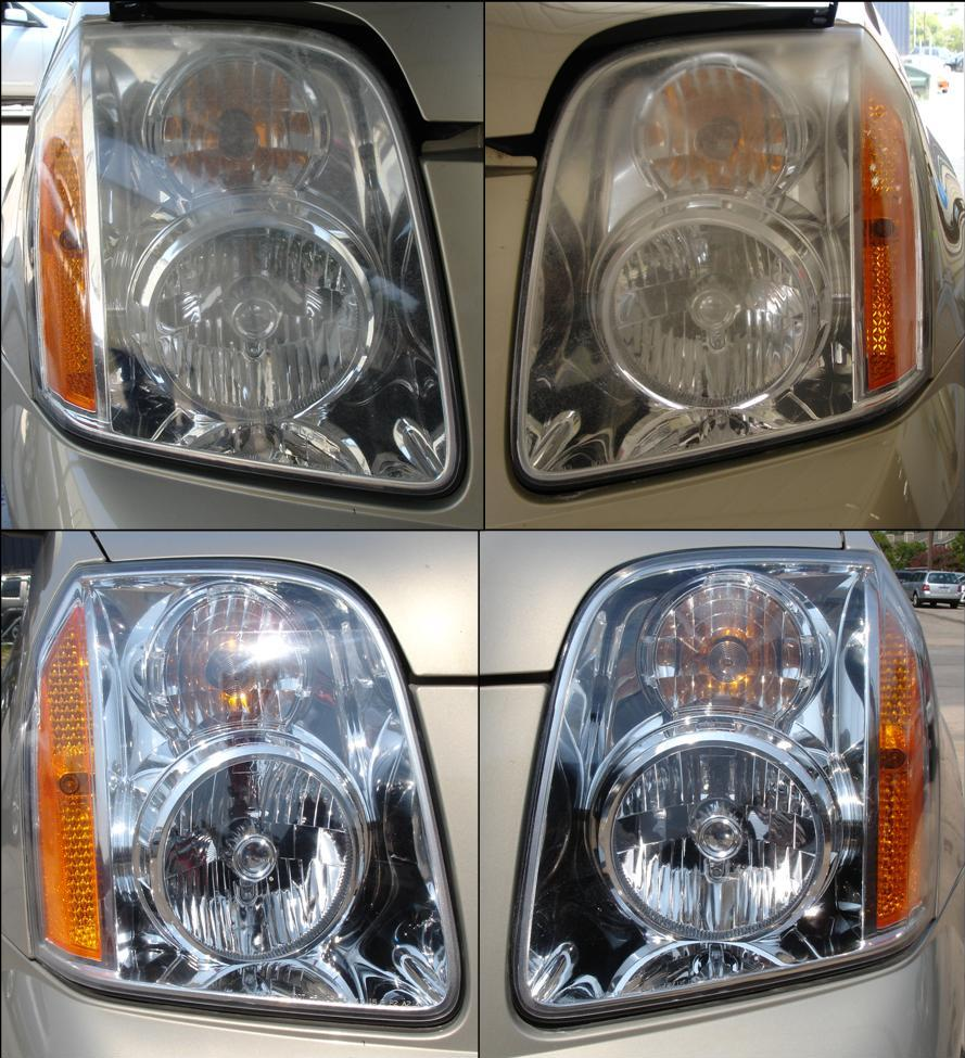 Chevrolet Tahoe Headlight Restoration