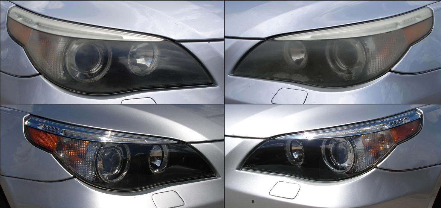 How to clean bmw headlights