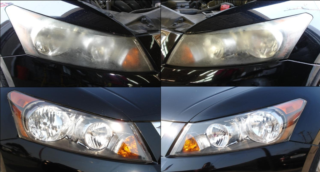 Honda Accord Headlight Restoration