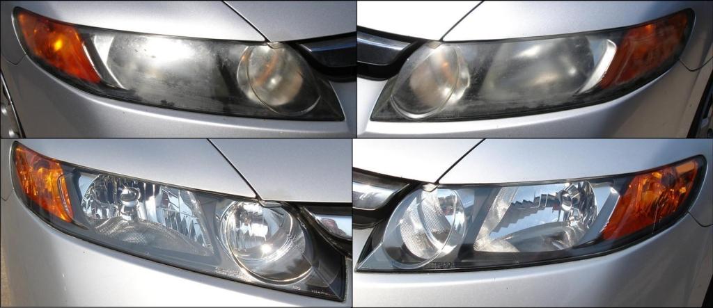 Honda Civic Headlight Restoration