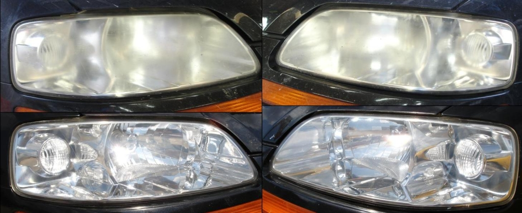 Chevy Aveo Headlight Restoration