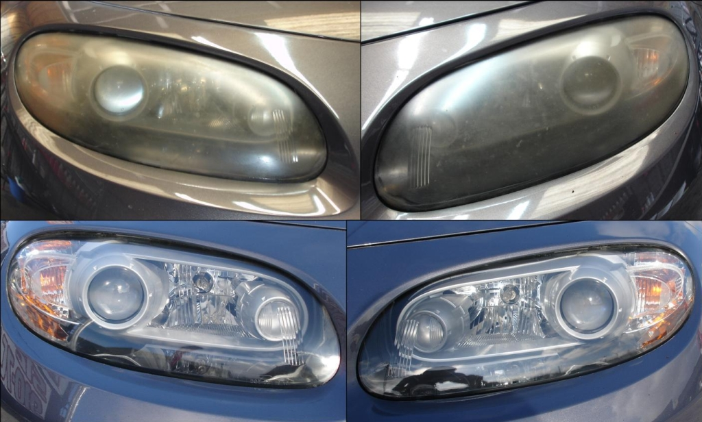 Mazda Miata Headlight Restoration