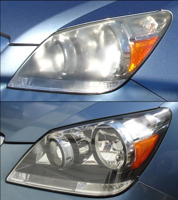 Honda Odyssey Headlight Restoration