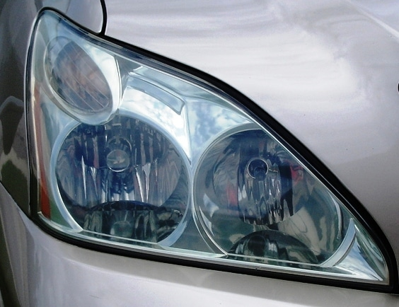 Lexus Headlight Restoration Restored