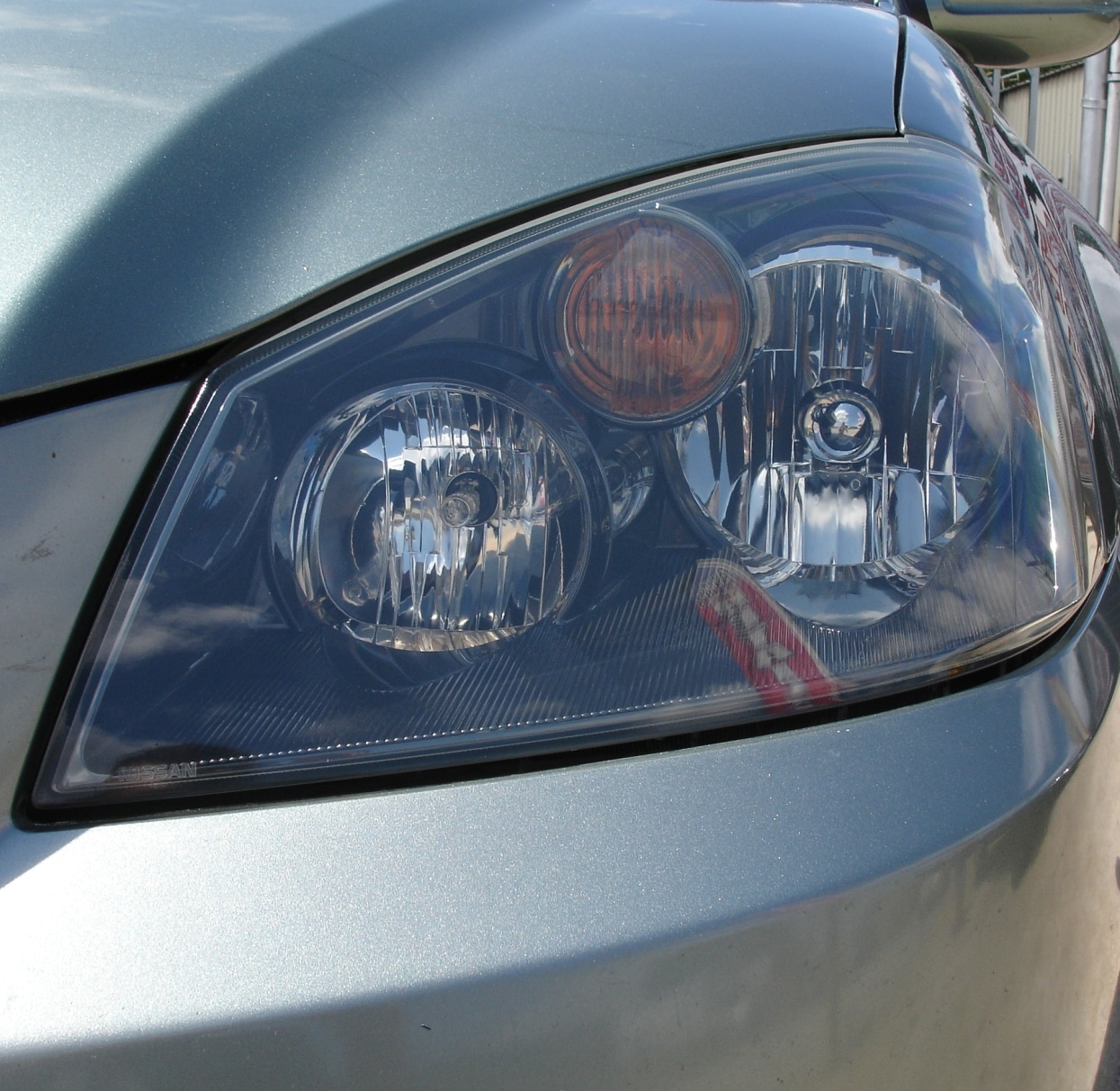 Nissan Headlight Restoration After