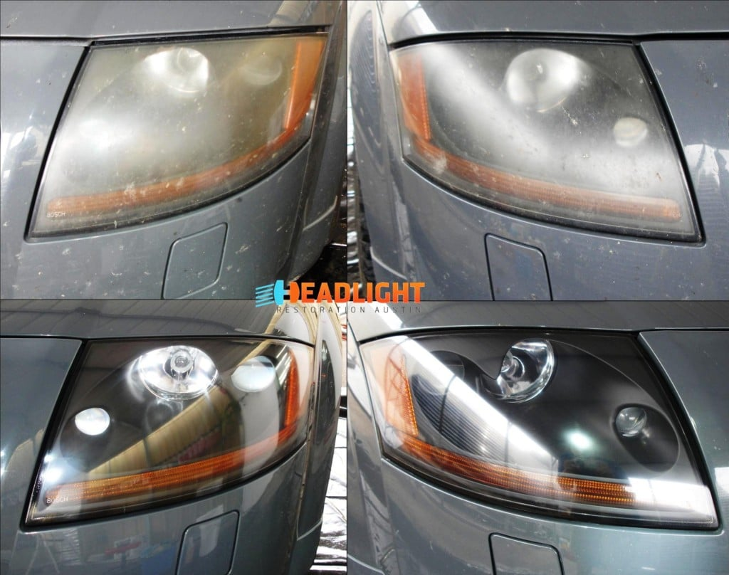 2002 Audi TT Headlight Restoration