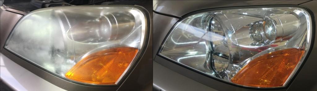 2003 Honda Pilot Headlight Restoration