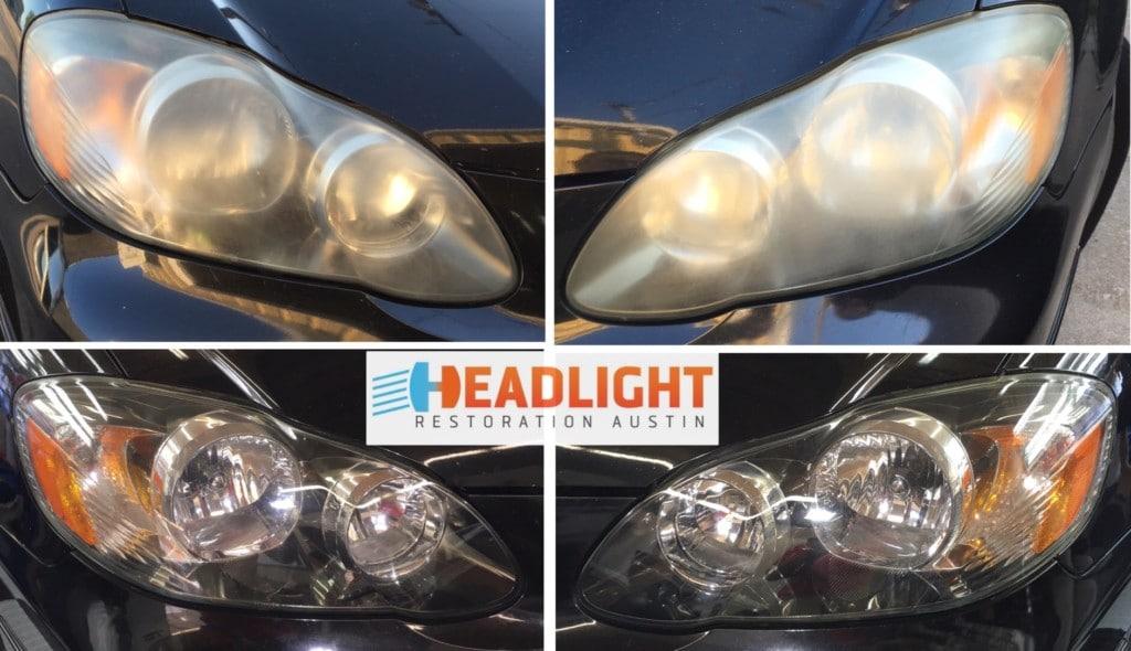 2005 Toyota Corolla Headlight Restoration