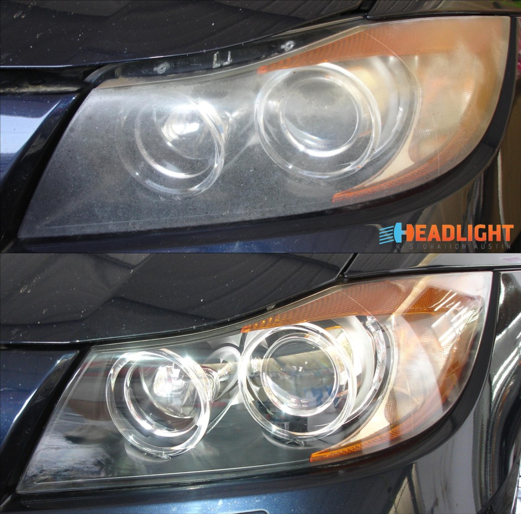 2006 BMW 335i Headlight Restoration