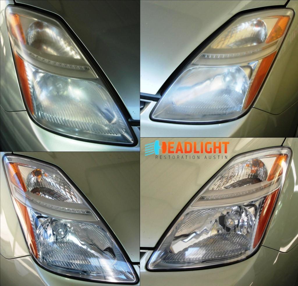 2006 Toyota Prius Headlight Restoration